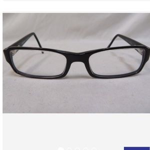 Dolce & Gabbana Black Rectangle Display Glasses
